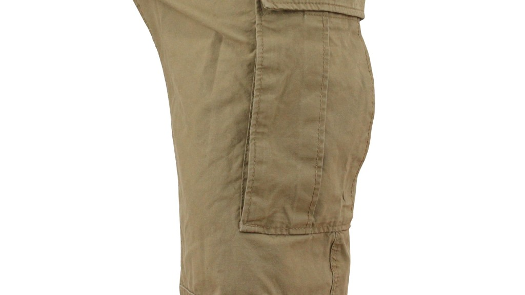 flat pocket for mens cargo shorts and pants