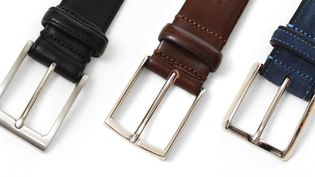 belts for men brown belt with stainless steel buckle comp