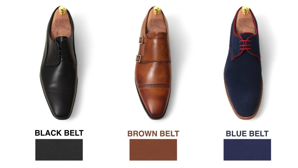 Matching Belt With Dress Shoes