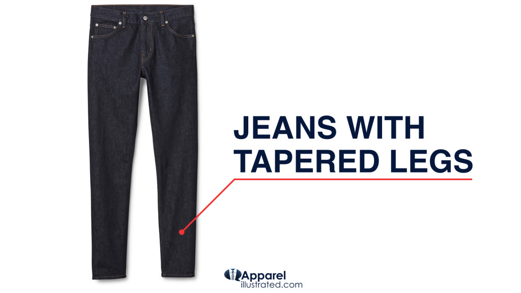 how to make tapered pants