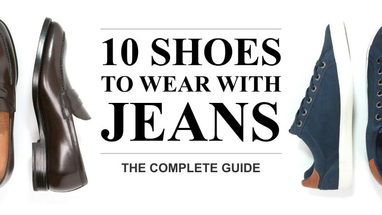 Shoes to wear with jeans featured image