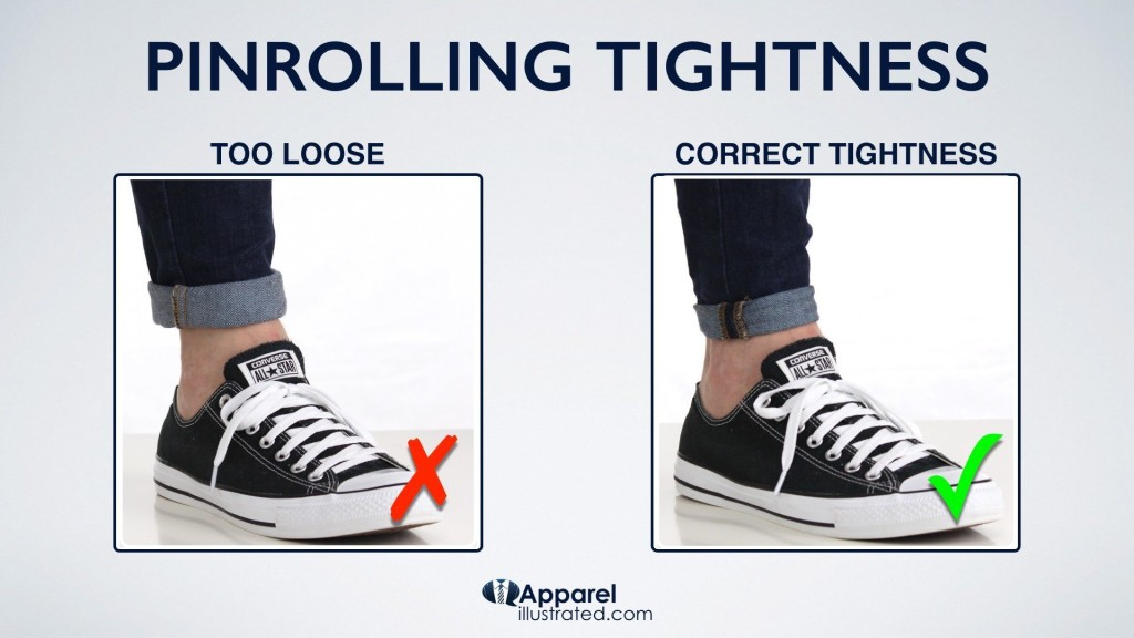 how to show socks with rolled up jeans