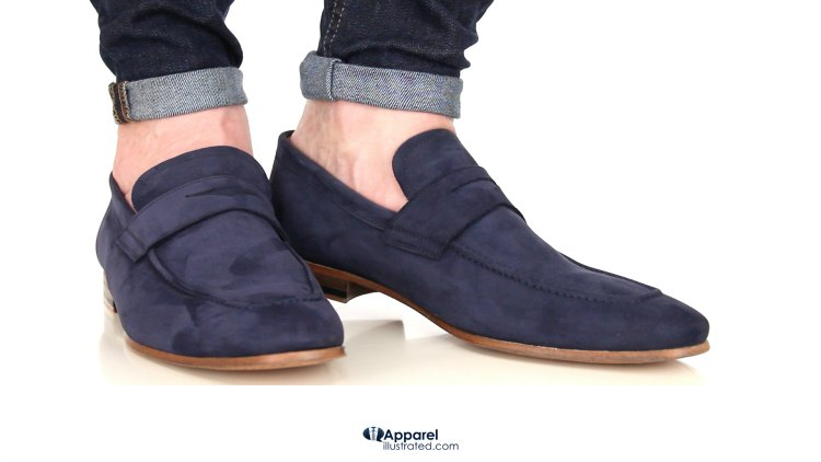 pin-roll with loafer slip-ons comp