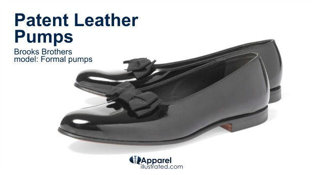 patent leather pumps for men