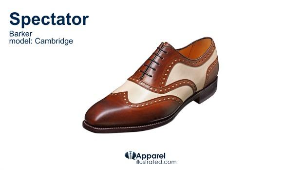 spectator dress shoe