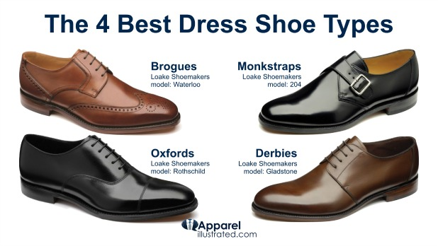 Types Of Dress Shoes Mens