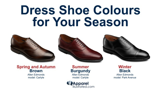 your seasons dress shoe colour