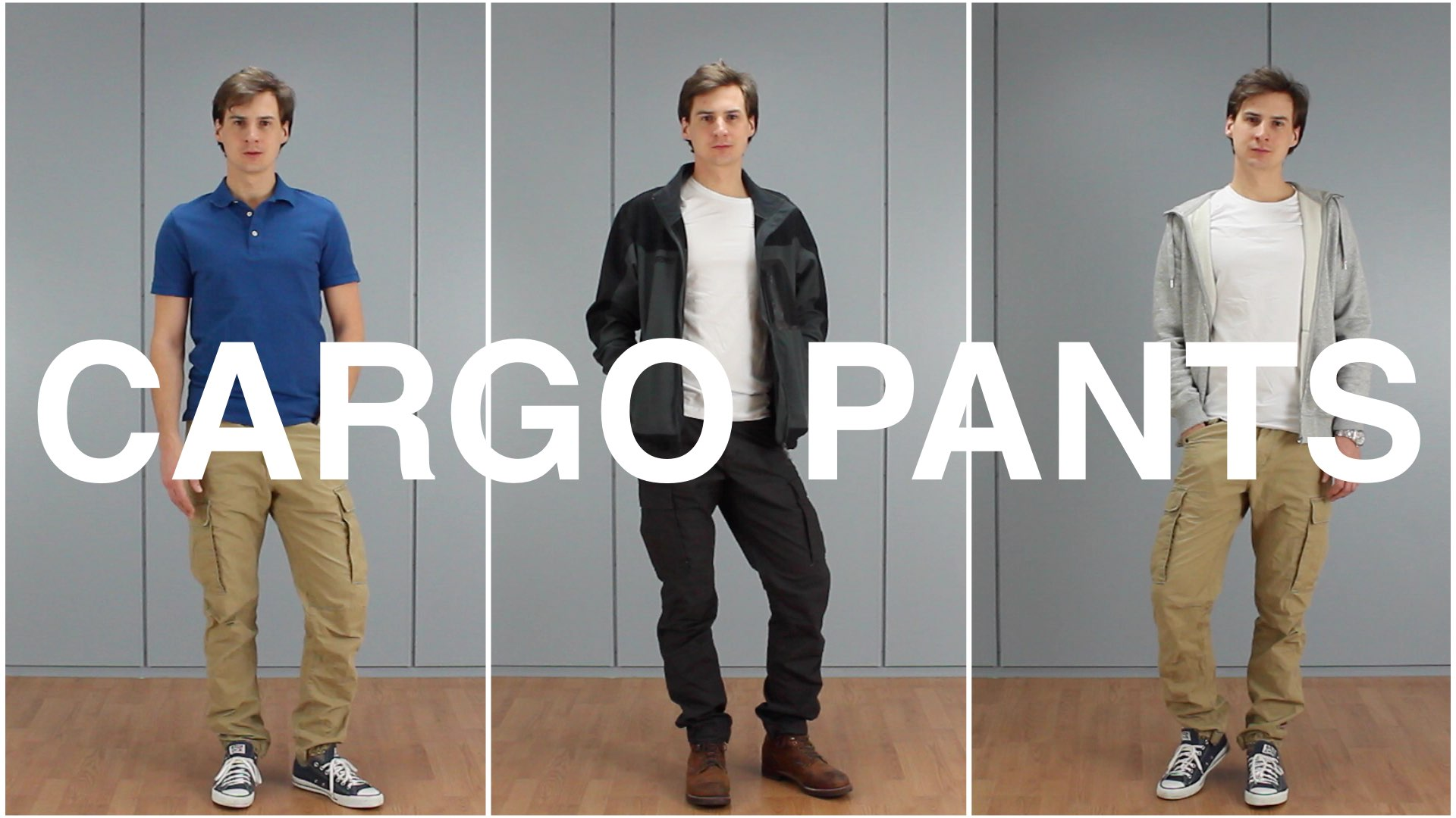 Cargo pants for men: 5 great outfits + top 11 style mistakes.