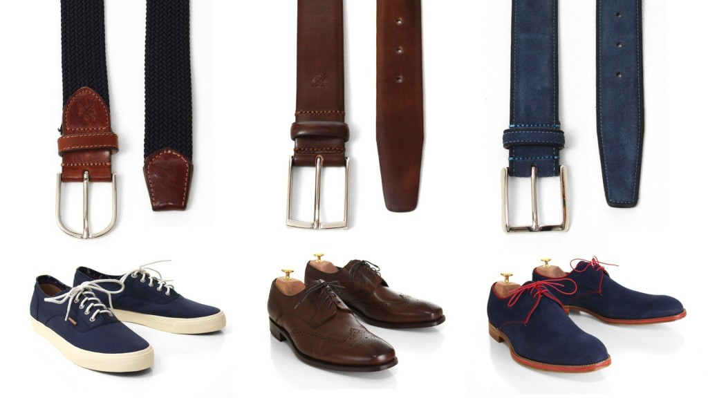 Mens Shoe And Belt Combo