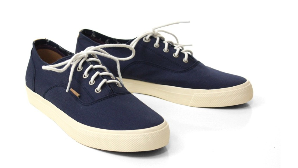 Beige Canvas Shoes Mens