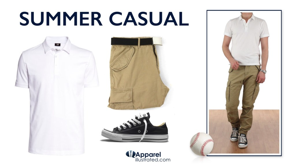 cargo pants as summer casual pants