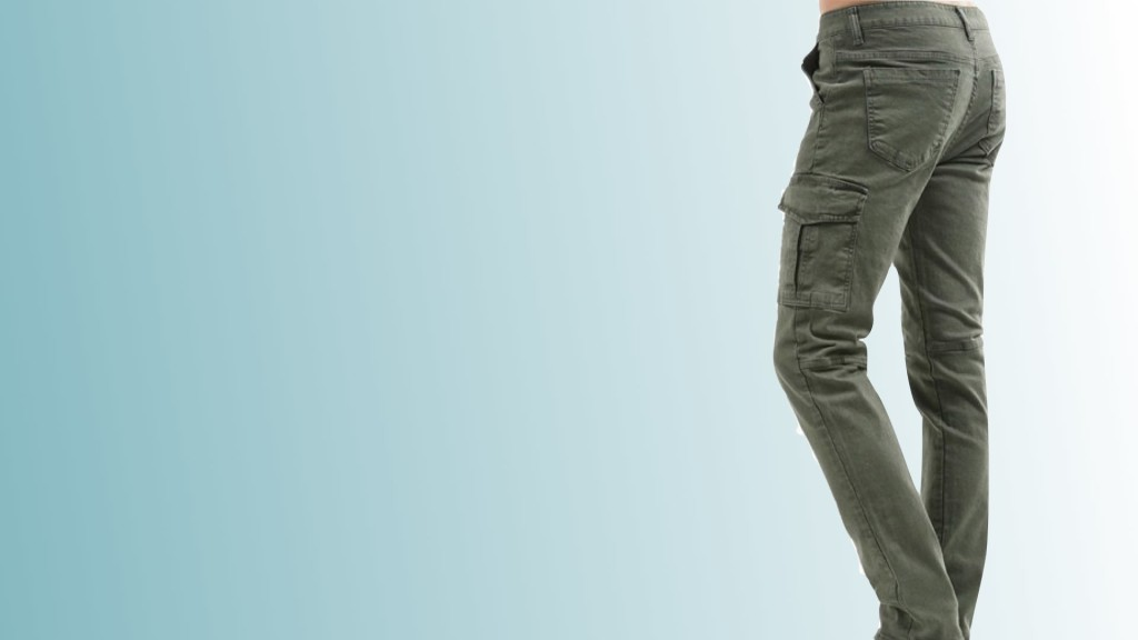 example of skinny cargo pants for men