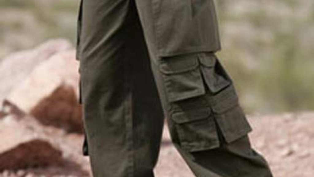 cargo pants for men with too many pockets