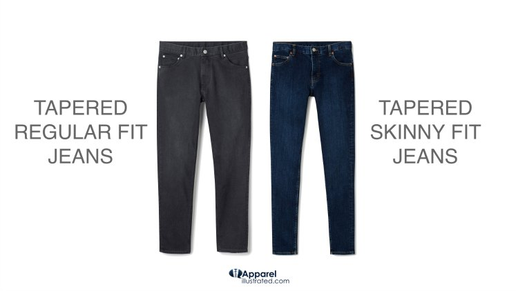pinroll regular and skinny fit jeans comp 1