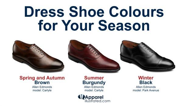 your seasons dress shoe colour
