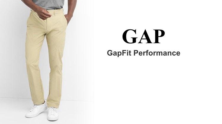 Best Chinos GAP GapFit Performance
