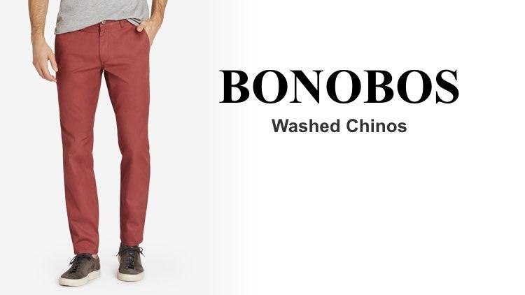 Best Chinos Bonobos Washed Chinos