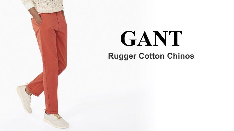 Best Chinos Gant Rugger Cotton Chinos