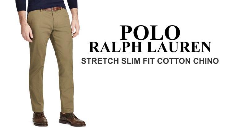 Best Chinos Polo Ralph Lauren Stretch Slim Fit Cotton Chino