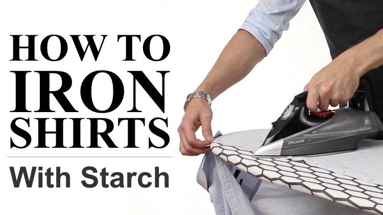 How to Iron Shirts - Article Thumbnail