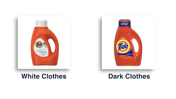 How to Iron Shirts choosing detergent