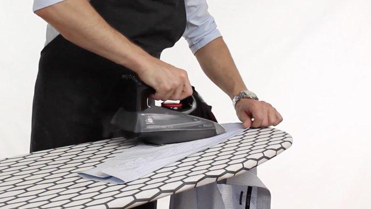 How to Iron Shirts ironing sleeves