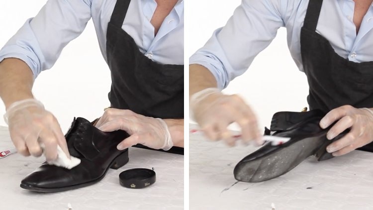 How to Polish shoes Conenent Images.010