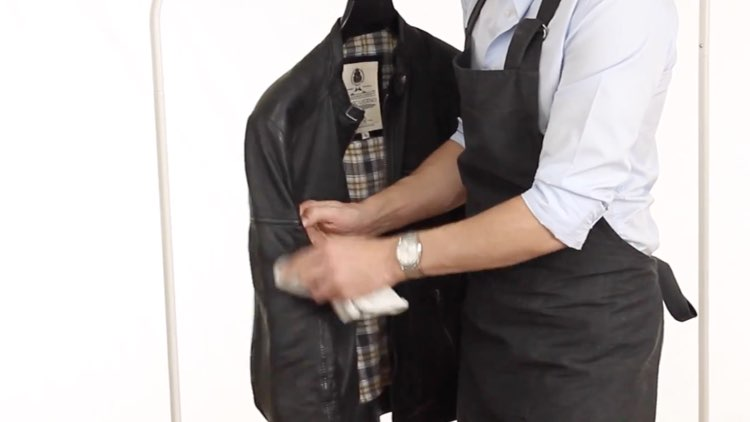 Jacket and Coat Care - Spot Cleaning Leather