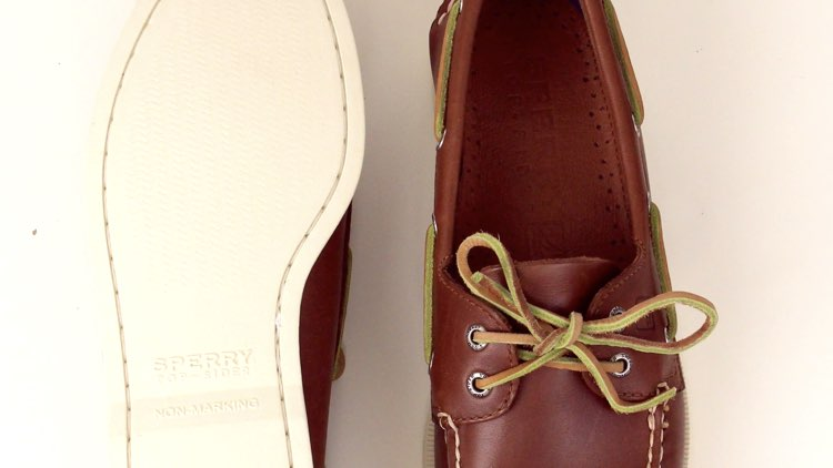 image of boat shoe sole and upper