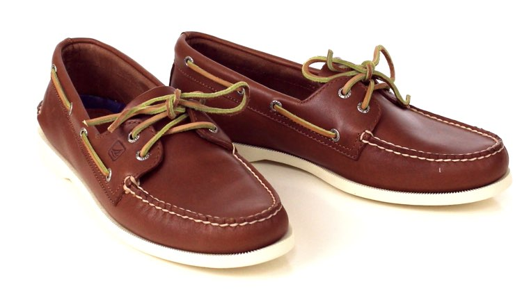 image of boat shoes