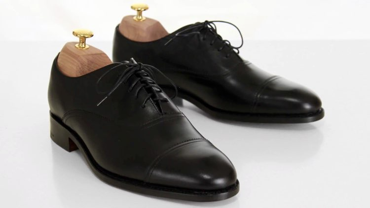 image of closed lacing shoes