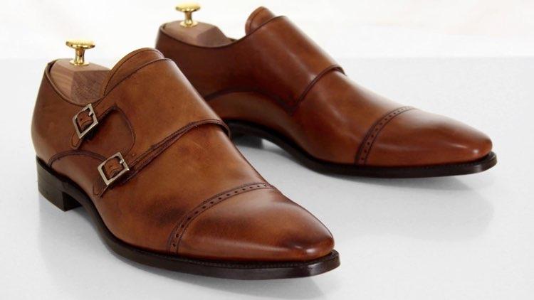 image of monkstrap shoes