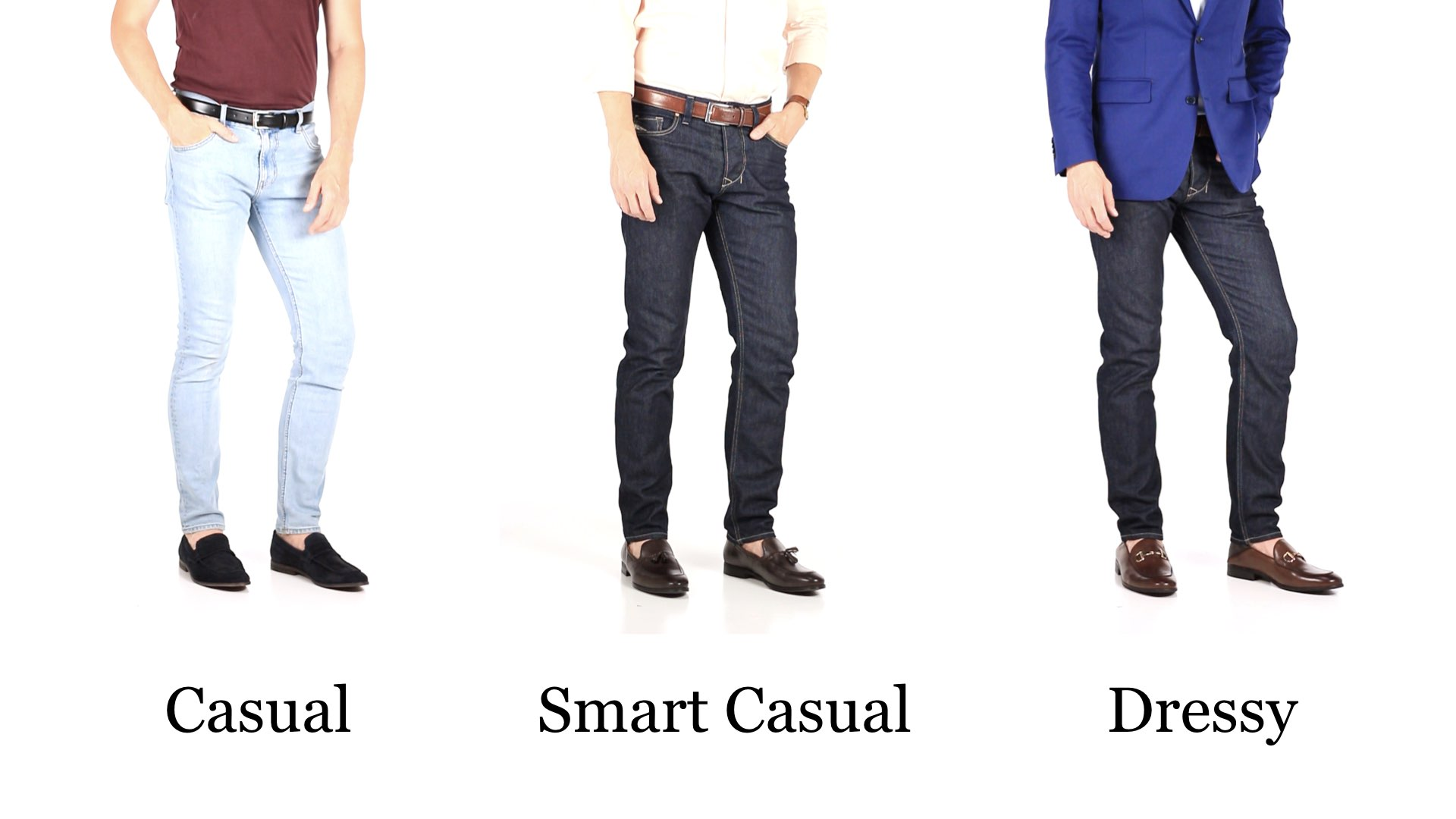 How To Wear Jeans And Dress Shoes